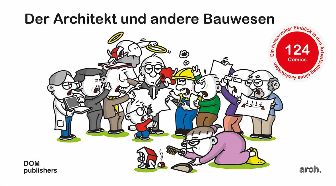 Pressebild Cover Architekt Bauwesen Comic